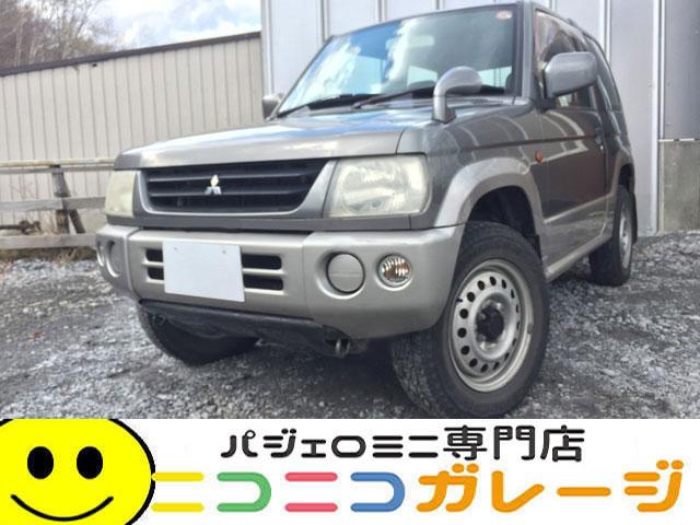 【ご成約】三菱 パジェロミニ660 X 4WD 前期型 (ガンメタリック)