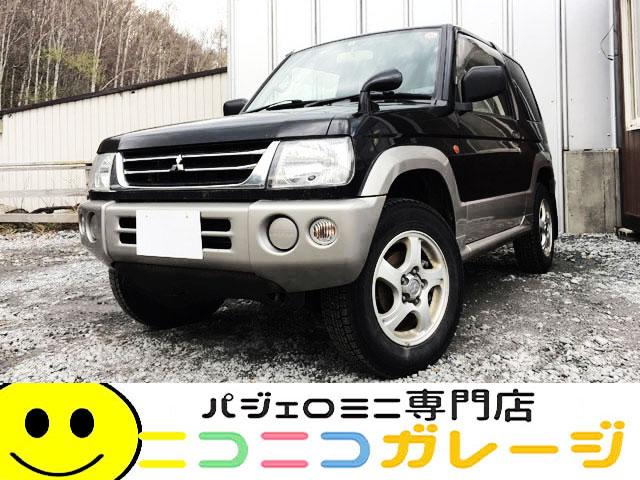 【ご成約】三菱 パジェロミニ660 XR 4WD 中期型 (ブラック)