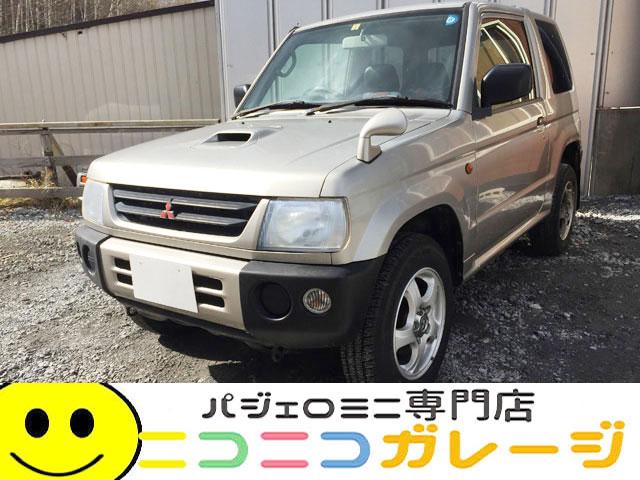 【ご成約】三菱 パジェロミニ660 V 4WD 前期型 (シルバー)