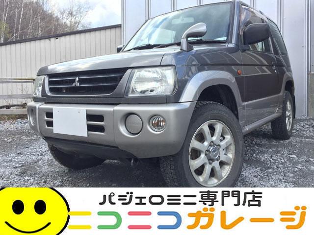 【ご成約】三菱 パジェロミニ660 X 4WD 前期型  タイベル交換済み (グレー)
