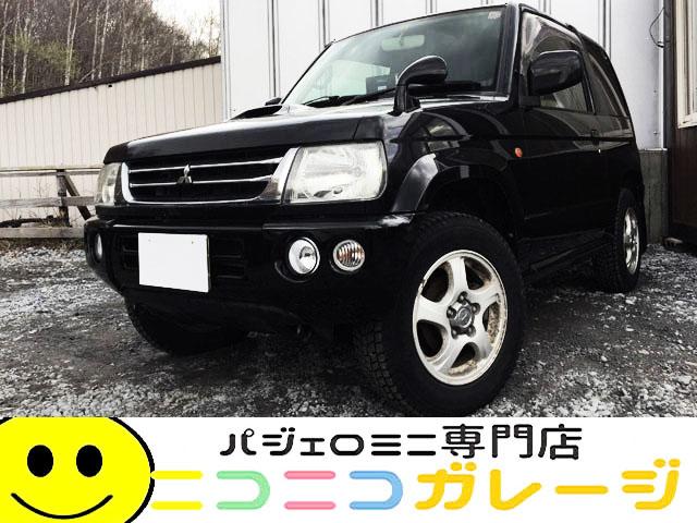 【ご成約】三菱 パジェロミニ 660VR 4WD 中期型 MT 検29年9月 ターボ