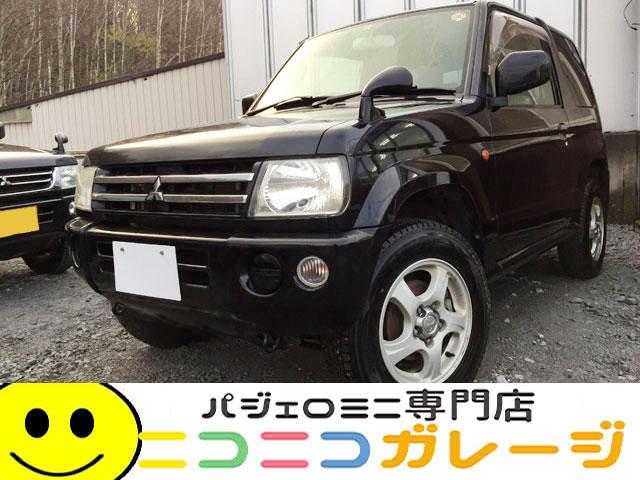【ご成約】三菱 パジェロミニ660 XR 4WD 後期型 (ブラック)